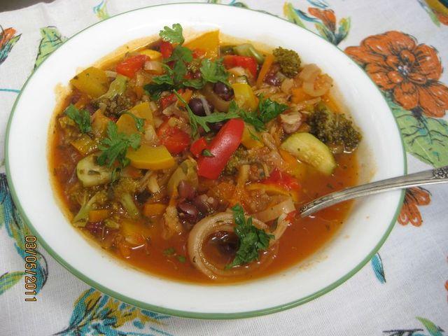 Овощной суп «Фантазия»