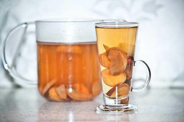 фруктовый кисель из груши и абрикосов