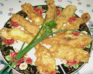 Простейший рецепт приготовления рыбы в кляре